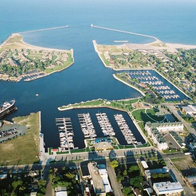 Ludington Harbor